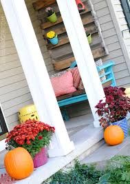 decorating the home using fall favorites burger
