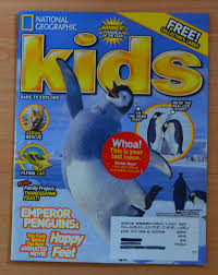 national geographic kids november 2006 emperor penguins happy feet