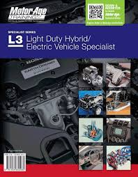 ase test prep l3 hybrid electric vehicle specialist