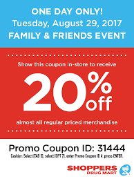 Shoppers Rug Mart Shoppers Drug Mart Sdm Friends And Family Sale 20 Off