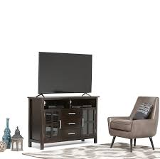 Discount Furniture Kitchener Amazon Com Simpli Home Kitchener Tall Tv Media Stand For Tvs Up
