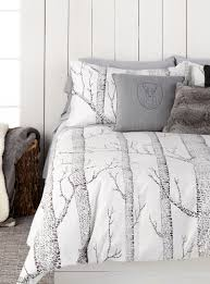 Home Decor Shop Online Canada A Woodland Wonderland Simons Maison Nordic Forest Duvet Cover