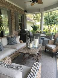 Front Porch Patio Furniture by Best 20 Outdoor Patio Decorating Ideas On Pinterest Deck