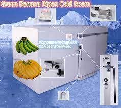 chambre froide installation vert banane mûrissent chambre froide installer par pu isolation
