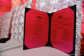 bling wedding programs destination wedding filled with bling at the las vegas