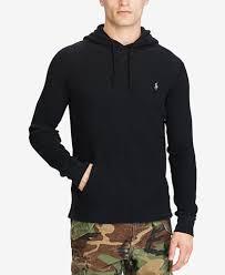 polo ralph lauren men u0027s waffle knit hoodie sweaters men macy u0027s