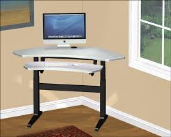 height adjustable desk with keyboard u0026 imac step iges autocad