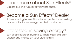 Solar Tube Lights by Sun Effects Tubular Skylights Solar Tubes And Tube Lights