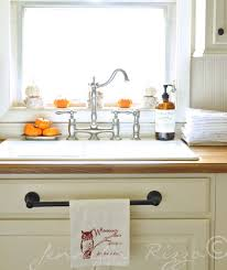 kitchen towel rack ideas welcome to my fall home the finding fall home tour towels hanger