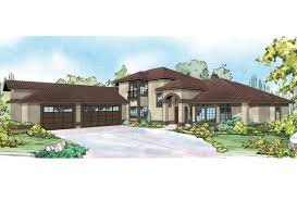 Spanish Home Plans Mediterranean House Plans Pasadena 11 140 Associated Designs