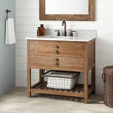 Wooden Bathroom Furniture Wood Bath Vanity Signature Hardware