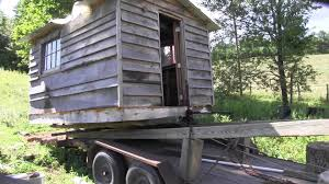 moving a small cabin youtube