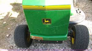 john deere stx38 lawn mower item b1432 sold wednesday a