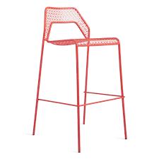 blu dot bar stool blu dot hot mesh bar stool