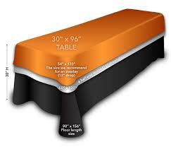 what size tablecloth for 8 foot table rent round tablecloths in polka dot within what size tablecloth for