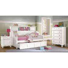high white wood daybed with storage for grey girls room elegant
