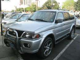 mitsubishi montero sport 2001 2002 mitsubishi montero sport information and photos momentcar