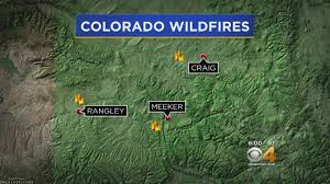 Wildfire Colorado News by Wildfire Grows To 400 Acres In Northwest Colorado Cbs Denver