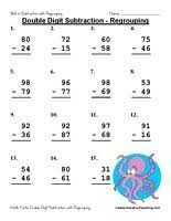 teach your kids 2 digit addition with regrouping using worksheets