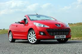 peugeot roadster the best cheap convertible cars parkers