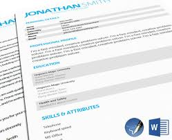 ms office cv format mid entry cv templates cv and cover letter template 107docx