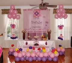 Upcoming Home Design Trends by Balloon Decorations For Baby Birthday Wonderful Decoration Ideas