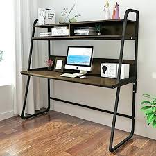 Office Computer Desk With Hutch Metal Desk With Hutch Black Metal Writing Desk Metal Office Desk