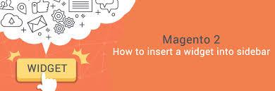 magento layout xml tutorial how to insert a widget into sidebar in magento 2 tutorials mageplaza