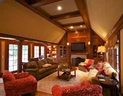 maison home interiors accenting the oak belle maison short hills nj paneling is dominant