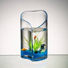 Heart Shaped Glass Vase Creative Glass Vase Heart Shaped Fish Tank Hydroponic Container