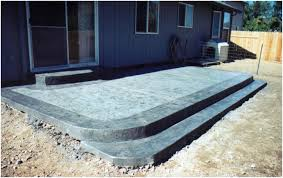 Stamped Concrete Patios Pictures by Backyards Amazing Brooklin Barnboard Concrete Patio Slabs I Want