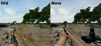 is pubg test server down first person weapon models have been repositioned in the test