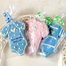 favor cookies personalized baby bodysuit cookies