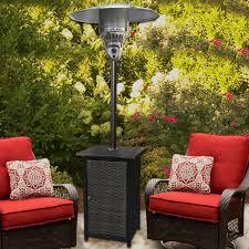 Outdoor Propane Patio Heater Hanover Square Wicker 41 000 Btu Propane Patio Heater U0026 Reviews