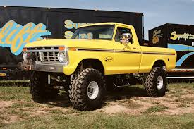 Ford Diesel Trucks Mudding - 77 ford f150 1978 ford truck jacked up automotive profiling