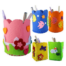 fabric children diy handmade material kindergarten handmade pen