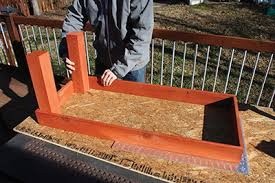 Upside Down Bench Cedar Patio Benches Extreme How To