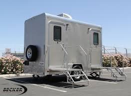 luxury mobile restroom portable bathroom trailer 2 stall