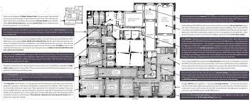 floorplans of reclusive heiress huguette clark u0027s 5th avenue digs