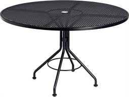 Commercial Outdoor Round Dining Tables - 60 inch round wrought iron outdoor dining tables