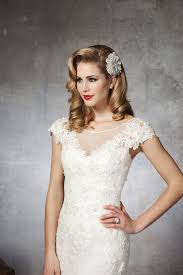 Vintage Lace Wedding Dresses With Sleevescherry Marry Cherry Marry Lace Wedding Dress With Capped Sleevescherry Marry Cherry Marry