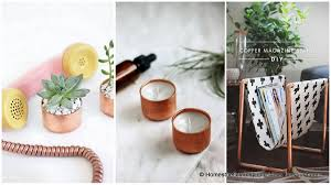 copper room decor 17 gorgeous diy copper projects that will add elegance to any