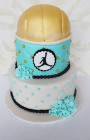 9 best volleyball cake images on pinterest volleyball cakes