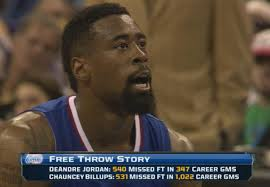 Deandre Jordan Meme - another wonderful stat about deandre jordan and chauncey billups