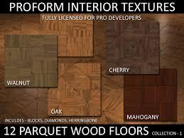 second marketplace proform interior textures parquet wood
