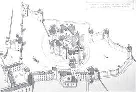 Himeji Castle Floor Plan Isometric View Of Alnwick Castle 1866 961 649 Anglophile