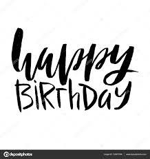 imagenes de cumpleaños sin letras letras de feliz cumpleaños inscripción aislada sobre fondo blanco