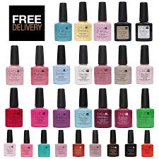 cnd shellac uv nail polish choose from all colours top coat and