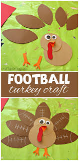 football turkey craft for to make turkey craft crafts for