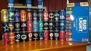 where to buy bud light nfl cans 2017 bud light football nfl kickoff beer cans bengals browns falcon